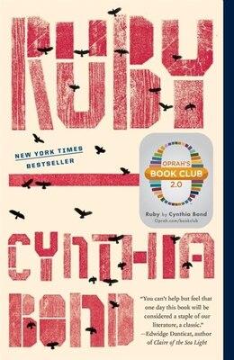 Book Ruby (oprah's Book Club 2.0) by Cynthia Bond