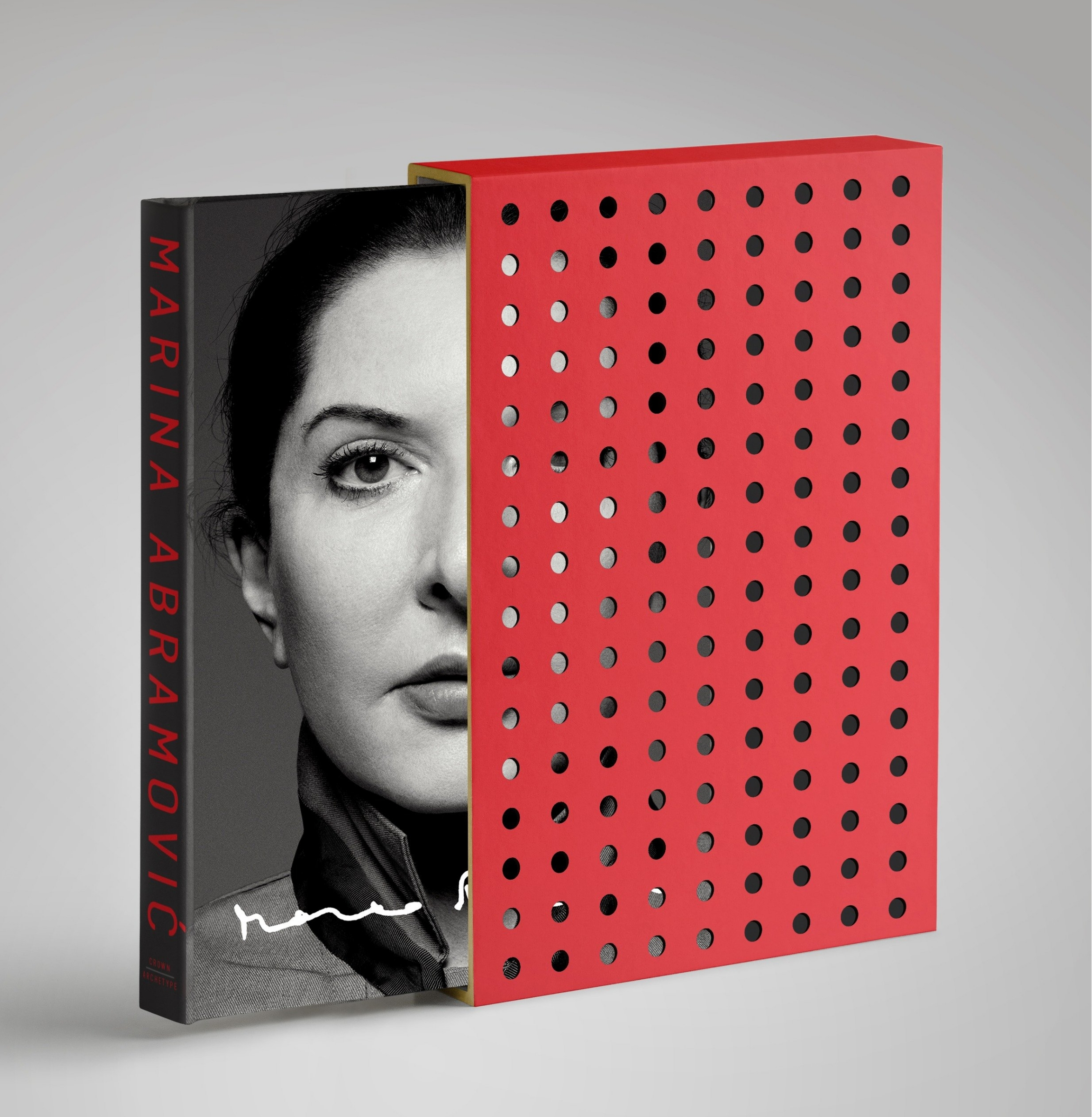 Book Walk Through Walls Signed And Numbered Collector's Edition by Marina Abramovic