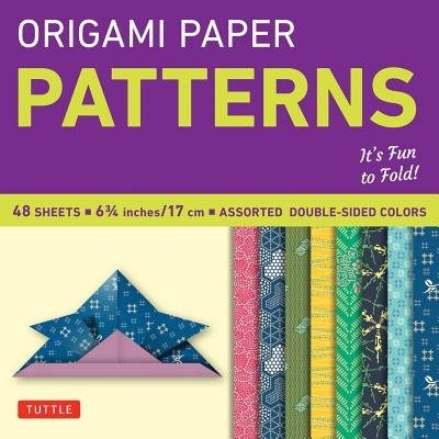 "Origami Paper - Patterns - Small 6 3/4"" - 49 Sheets: Tuttle Origami Paper: High-quality Origami Sheets Printed With 8 Different Designs: Instructions Fo by Tuttle Publishing"