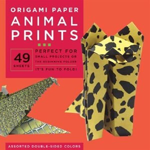 """Origami Paper - Animal Prints - 8 1/4"""" - 49 Sheets: Tuttle Origami Paper: High-quality Large Origami Sheets Printed With 6 Different Patterns: Instruct by Tuttle Publishing"""