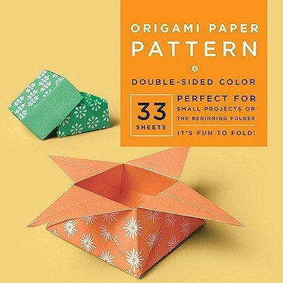 """Origami Paper - Pattern - 6 3/4"""" - 33 Sheets: Tuttle Origami Paper: High-quality Origami Sheets Printed With 4 Different Designs: Instructions Fo by Tuttle Publishing"""