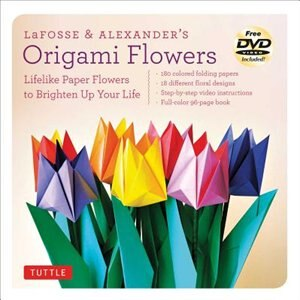 Lafosse & Alexander's Origami Flowers Kit: Lifelike Paper Flowers To Brighten Up Your Life: Kit With Origami Book, 180 High-quality Origami Pa by Michael G. LaFosse