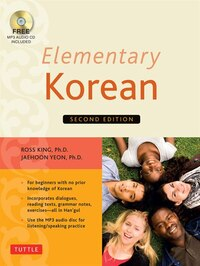 Elementary Korean: Second Edition (audio Cd Included)