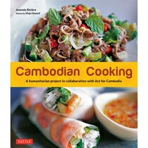 Book Cambodian Cooking: A Humanitarian Project In Collaboration With Act For Cambodia by Joannes Riviere