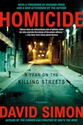 Book Homicide: A Year On The Killing Streets by David Simon