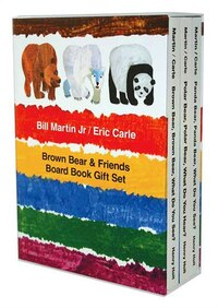 Brown Bear & Friends Board Book Gift Set: Brown Bear, Brown Bear, What Do You See?; Polar Bear…