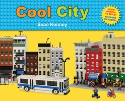 Cool City: Legot Models To Build - Stickers Included