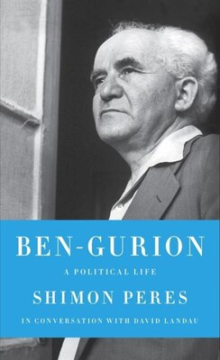 Book Ben-gurion: A Political Life by Shimon Peres