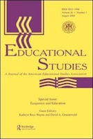 Ecojustice and Education: A Special Issue of educational Studies