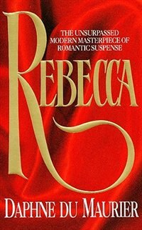 Book Rebecca by Daphne Du Maurier