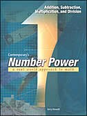 Book Number Power 1: Addition, Subtraction, Multiplication, and Division: Addition, Subtraction… by Contemporary