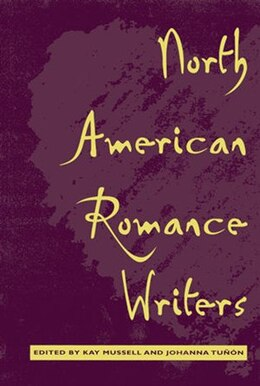 Book North American Romance Writers by Kay Mussell
