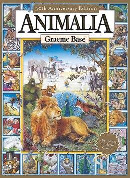 Book Animalia by Graeme Base