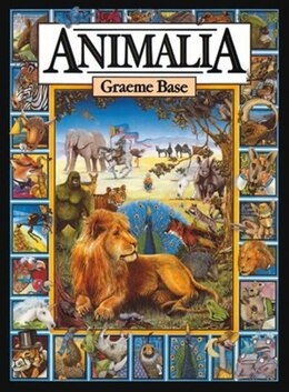 Book Animalia Midi by Graeme Base