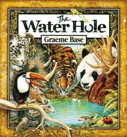 Book The Water Hole by Graeme Base