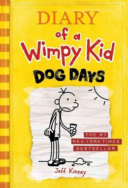 Book Diary Of A Wimpy Kid # 4 - Dog Days: Dog Days by Jeff Kinney