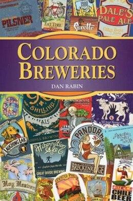 Book Colorado Breweries by Dan Rabin