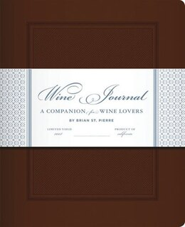Book Wine Journal by Brian St. Pierre