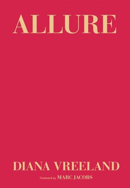 Book Allure by Diana Vreeland