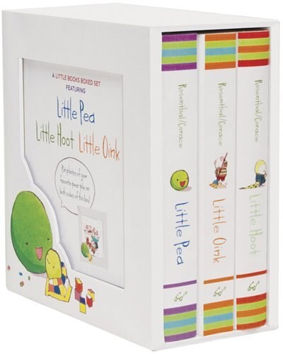 A Little Books Boxed Set Featuring Little Pea  Little Hoot  Little Oink: (baby Board Books, Nursery Rhymes, Children's Book Sets, Nursery Books) by Amy Krouse Rosenthal