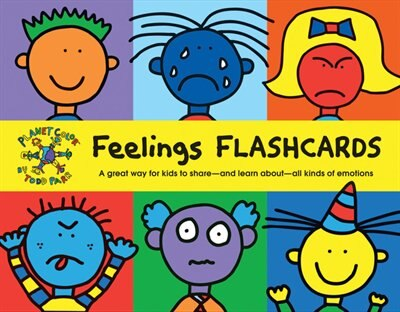 Todd Parr Feelings Flash Cards: (kids Learning Flash Cards, Children's Emotion Cards, Emotion Games) by Todd Parr