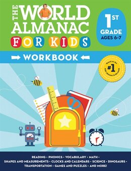 Book World Almanac For Kids Workbook: Grade 1 by Molly Smith
