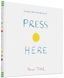 Book Press Here by Herve Tullet