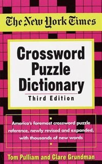 Book The New York Times Crossword Puzzle Dictionary by Tom Pulliam