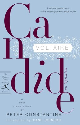 Book Candide: Or, Optimism by Voltaire