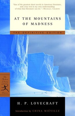 Book At the Mountains of Madness: The Definitive Edition by H.p. Lovecraft