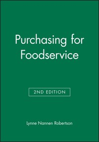 Purchasing for Foodservice
