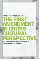 The First Amendment in Cross-Cultural Perspective: A Comparative Legal Analysis of the Freedom of…