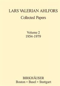 Collected Papers Vol 2: 1954-1979
