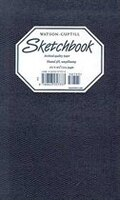 Medium Sketchbook (lizard, Navy Blue)