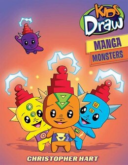 Book Kids Draw Manga Monsters by Christopher Hart