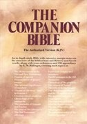 The Companion Bible: (Burgundy HC)
