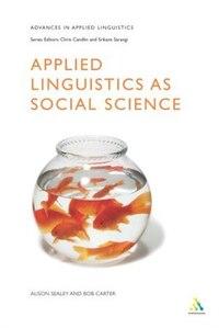 Applied Linguistics As Social Science