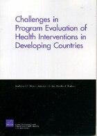 Challenges of Programs Evaluation of Health Interventions in Developing Countries