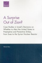 A Surprise Out Of Zion?: Case Studies In Israel's Decisions On Whether To Alert The United States…