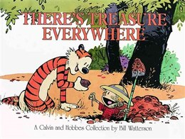 Book There's Treasure Everywhere by Bill Watterson