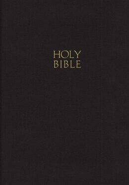 Book NKJV, Gift and Award Bible, Imitation Leather, Black, Red Letter Edition: Leatherflex - Black by Thomas Nelson