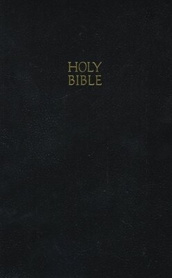 Book Kjv, Gift And Award Bible, Imitation Leather, Black, Red Letter Edition: Leatherflex - Black by Thomas Nelson