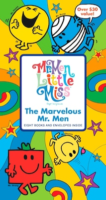 Book The Marvelous Mr. Men by Roger Hargreaves