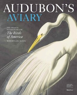 Book Audubon's Aviary Indigo Dlx Edition: The Original Watercolors For The Birds Of America by Roberta Olson