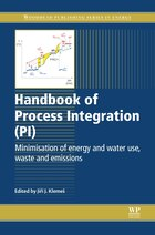 Handbook Of Process Integration (pi): Minimisation Of Energy And Water Use, Waste And Emissions