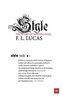 Style: The art of writing well