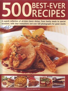 Book 500 BEST EVER RECIPES by Jenni Fleetwood
