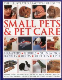 The Illustrated Practical Guide To Small Pets & Pet Care: Hamsters, Gerbils, Guinea Pigs, Rabbits…