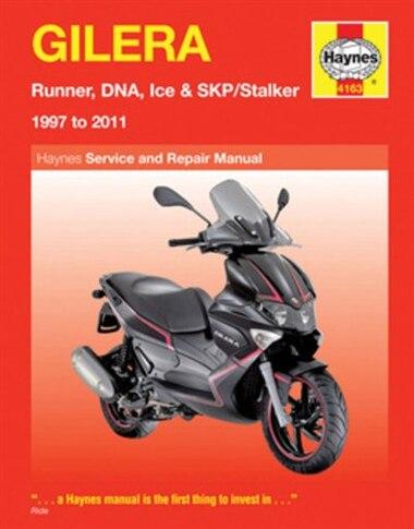 Gilera: Runner, DNA, Ice & SKP/Stalker 1997 to 2011 de Alan Ahlstrand