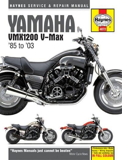 Yamaha Vmx1200 V-max '85 To '03 by Editors Of Haynes Manuals